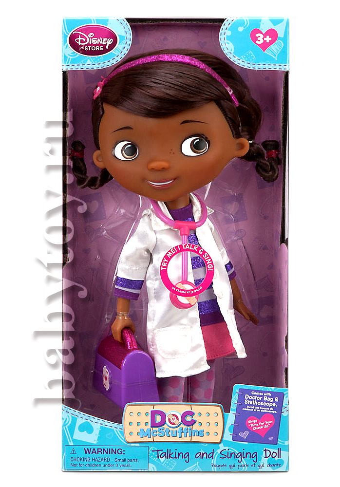 Кукла Doctor Plusheva