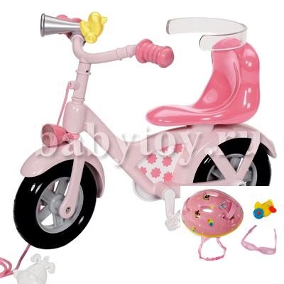 сиденья велосипедные для кукол беби бон