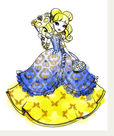 Блонди Локс, дочь Златовласки