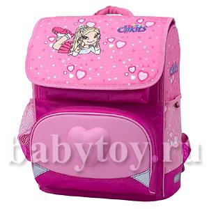 Рюкзак кликитс розовый супер премиум рюкзаки для первоклассника киев