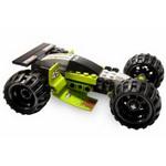 С конструктором Лего Гонки Болотный хоппер легко собирается модель инерционной машины и трамплин для прыжков.