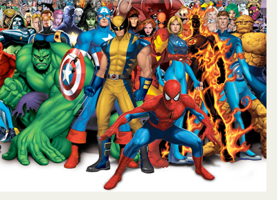 Супергерои Марвел фигурки Марвела