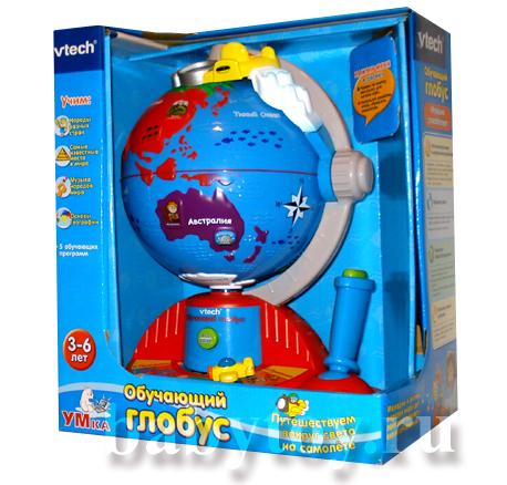 Vtech развивающая игрушка обучающий глобус купить