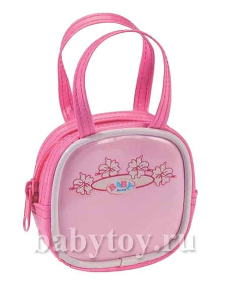 Мини сумочка с логотипом BABY born, ZAPF CREATION.