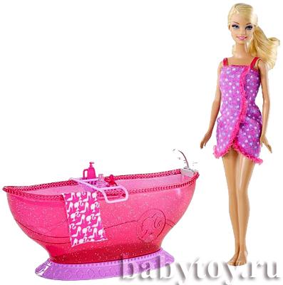 Barbie кукла барби ванная комната барби