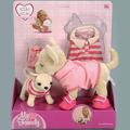 Мягкая игрушка Chi-Chi Love Две собачки с одеждой.