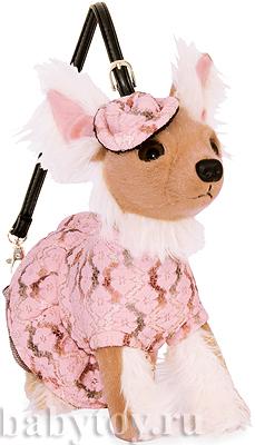 Сумка-собака Чихуахуа в подарочной упаковке Fuzzynation.