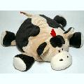 Мягкая игрушка Gulliver Корова подушка - раскладушка, 38см