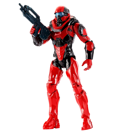 Halo Master Chief фигурка 30см Spartan Athlon Red Team