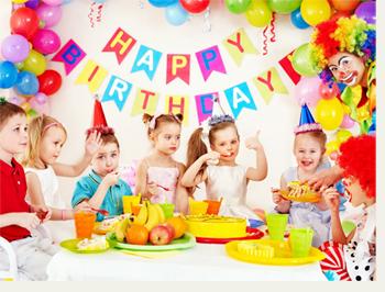 Как праздновать детский день рождения