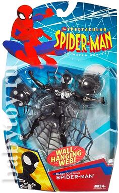 Черный человек паук игрушки