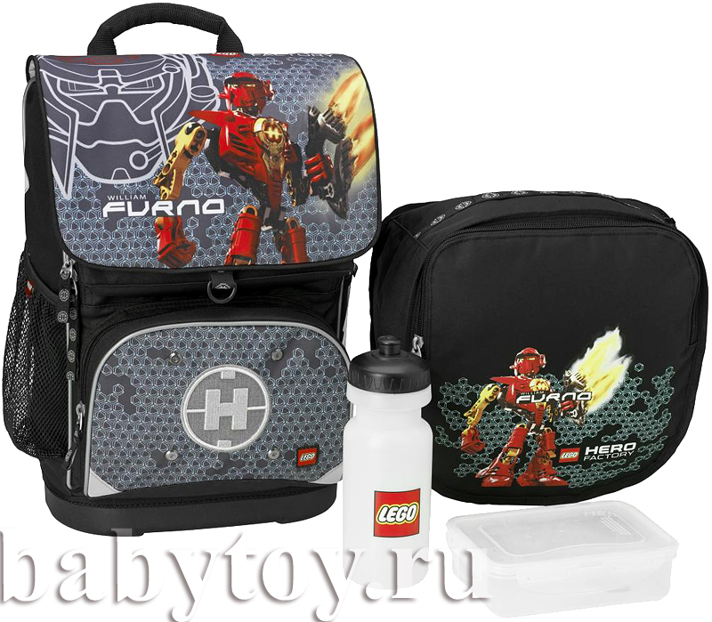 0317b74adc84 Lego Набор рюкзак+сумка для обуви Hero Factory 28л. - BabyToy