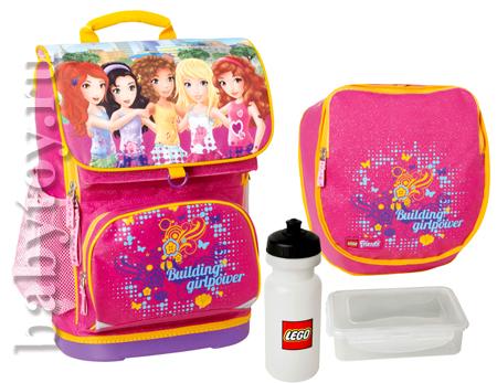 ba52548a99ae Lego Набор рюкзак + сумка для обуви LEGO® FRIENDS PINK 28л. - BabyToy