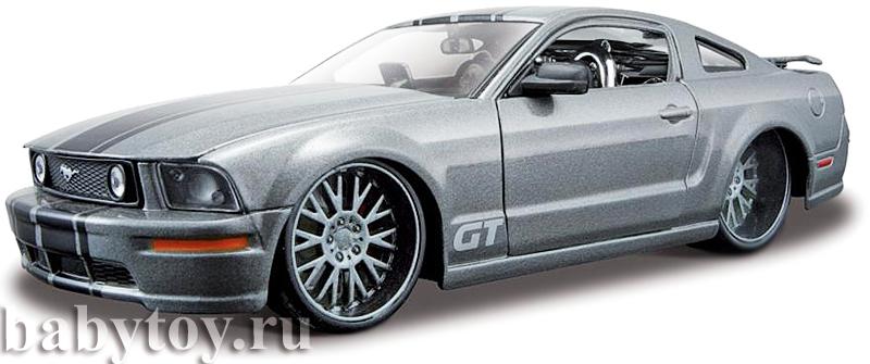 сборная модель машины 1:24 ford mustang gt
