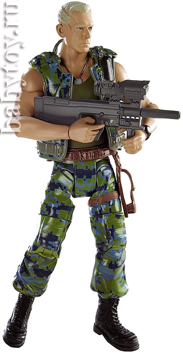 Mattel Аватар. Фигурка героя Colonel Miles Quatrich