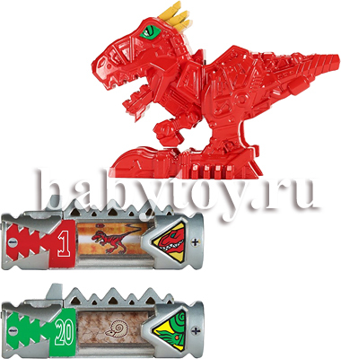 Игрушка Power Rangers Dino Charge Фигурка динозорда + 2 Дино