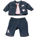 """Артикул.  Одежда  """"Джинсовая коллекция """" для BABY born.  Возраст ребенка."""