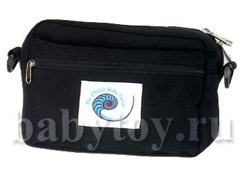 Поясная сумочка ERGO Front Pouch черный.