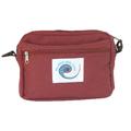 Фото товара Поясная сумочка для ключей ERGO (ЭРГО) для мамы Бордовая.