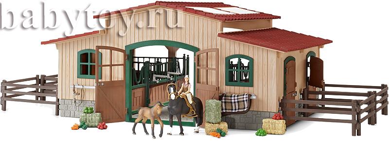 Как сделать конюшню для игрушечной лошади своими