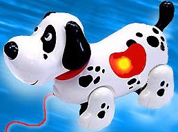 фото белых щенков с черными пятнышками