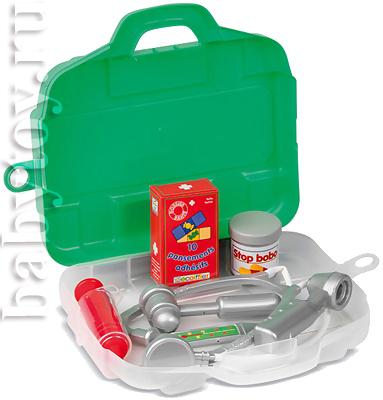 Набор доктора в чемоданчике.,1/12 // CityToys - детские игрушки оптом...