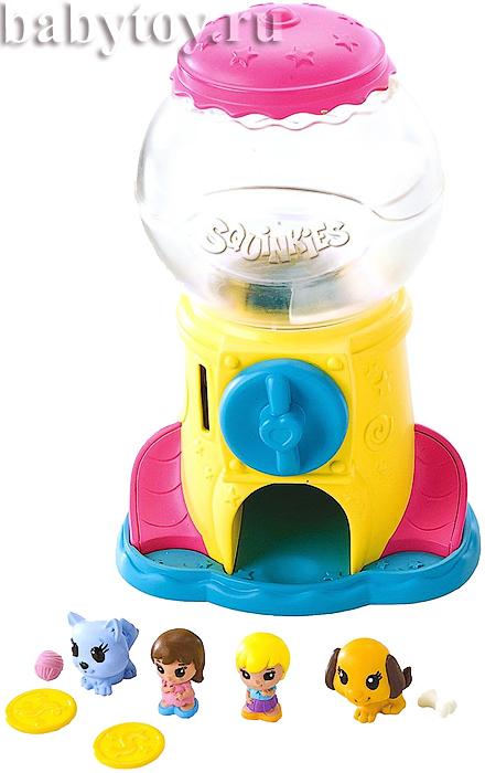 игровой набор с диспенсером squinkies твистер чайник