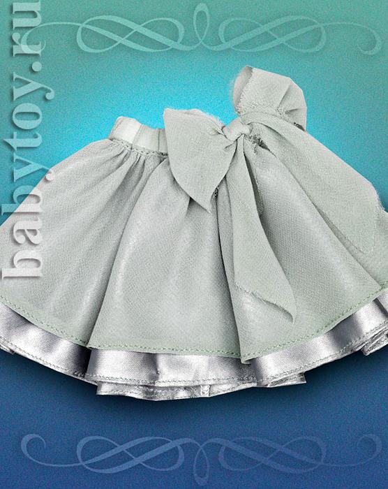 Как сшить двухслойную юбку для девочки 89