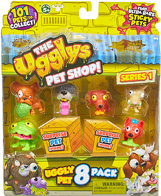 Набо из 8 фигурок Ugglys Pet Shop, в ассортименте