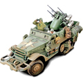 ���, ���� M16 Multiple Gun Motor Carriage, ������� 1:32